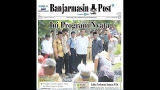 Kunjungan ke Pematang Panjang, Presiden Jokowi Terkesan Melihat yang Dilakukan Para Warga Ini