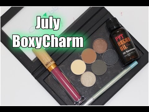 BoxyCharm July 2016 REVIEW