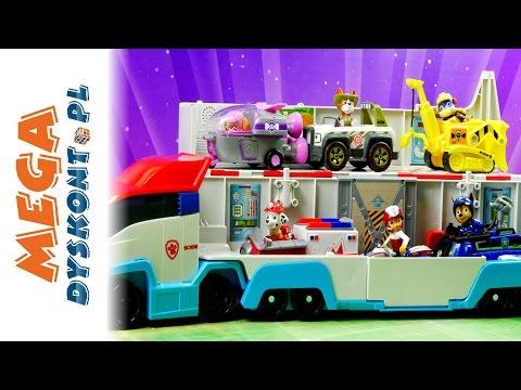 Kontrola Transportera - Psi Patrol - Bajki dla dzieci