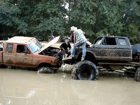 4x4 Ford Trucks Mudding Sunk Ford 4x4 Mud Truck