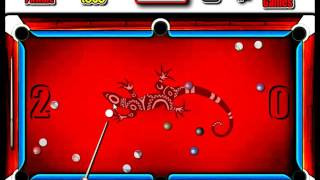 Flash Straight Billiard - How To play Tutorial
