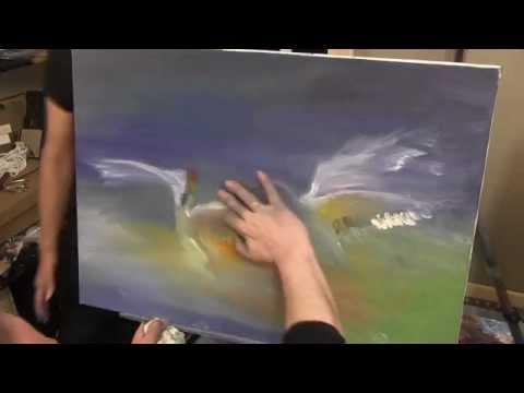 Видео как научиться рисовать птиц