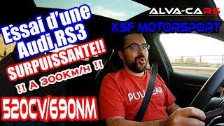 Ed Essaie une Audi RS3 de 520chevaux!!!