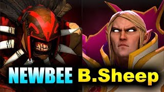 NEWBEE vs Black Sheep - USA vs CHINA - WCG 2019 DOTA 2
