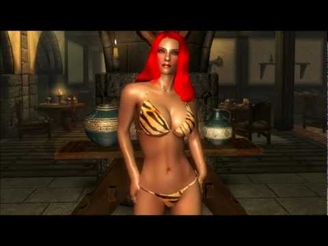 The Elder Scrolls V: Skyrim - Pushup Sexy Bikini 2.0 Mod