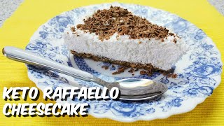 How to make the best keto raffaello cheesecake - your daily KETO recipe