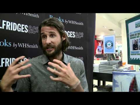 David de Rothschild sails along to Project Ocean - June 2011