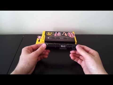 Nitecore P12 (XM-L2. 1x18650/2xCR123/2xRCR) Flashlight Review. by selfbuilt