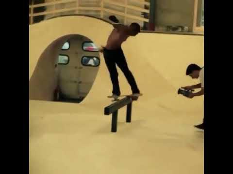Classic @bastiensalabanzi with some the craziest tricks ever #shralpin | Shralpin Skateboarding
