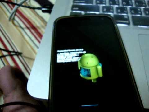 บรรยากาศการอัพเดท Android 4.0.4 ไปยัง 4.1.1 Jelly Bean