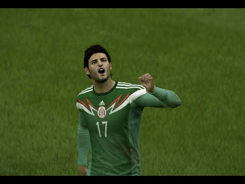 (PS4) FIFA 15 Mexico vs Colombia HD