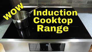 WOW!!! What a difference an Induction Cooktop Range makes - RMM0012