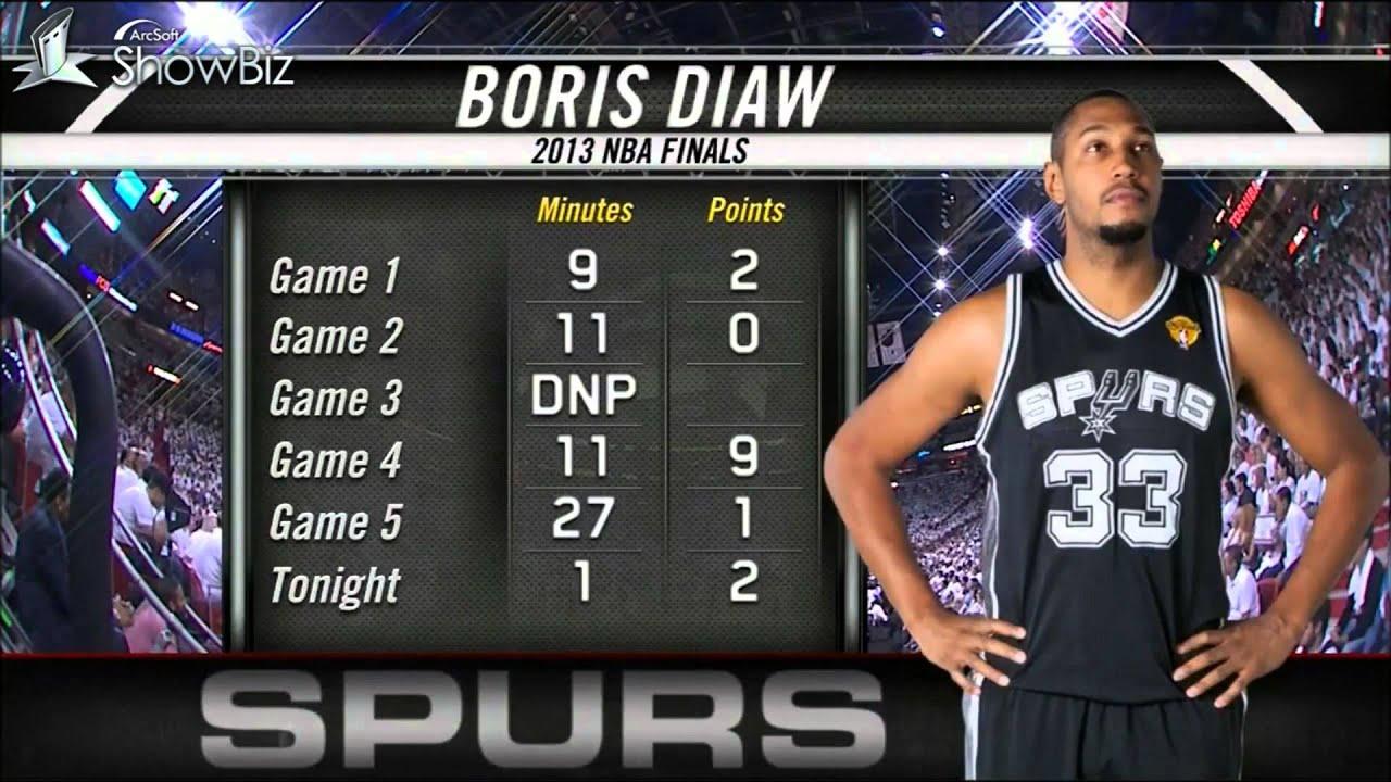Auu >> Boris Diaw Stops Lebron James- Video Analysis [ NBA Finales 2013 ] - YouTube