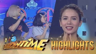It's Showtime Miss Q & A: Vice and Karylle get into a disagreement