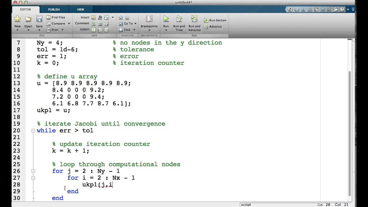 matlab tutorial videos The society of hispanic professional engineers matlab tutorial, march 26, 2004 j gadewadikar, automation and robotics research institute university of texas at arlington.