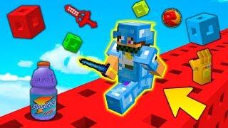CORSA con i LUCKYBLOCK di ROBLOX !! - Minecraft ITA