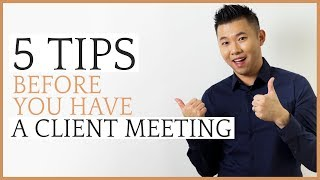 What To Do Before A Wedding Client Meeting
