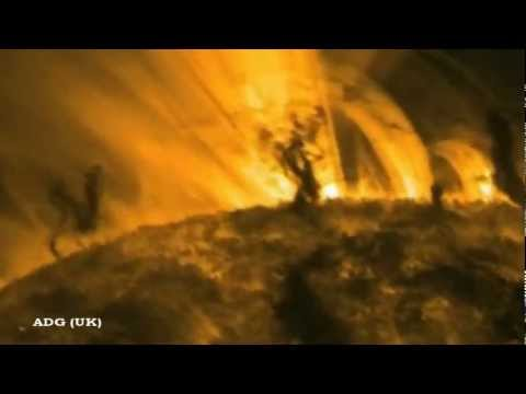 Planet-Sized Tornado Whirls On Sun's Surface 2012 HD