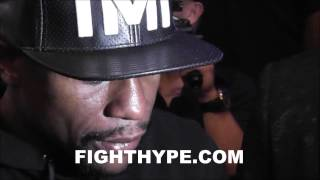 FLOYD MAYWEATHER TALKS GAME PLAN FOR ANDRE BERTO: