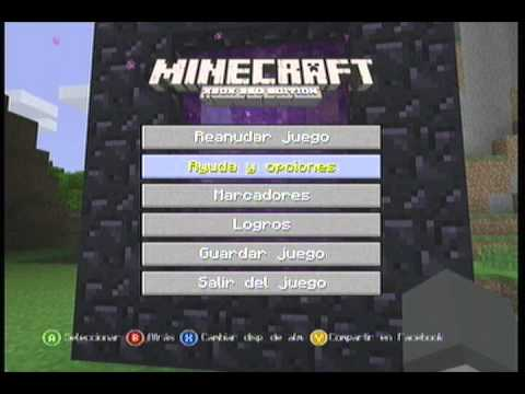 MineCraft Xbox 360 / Tutorial Portal Al Mundo Inferior