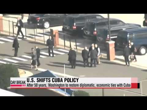 U.S. to restore ties with Cuba after 50 years   미•쿠바 반세기만에 외교관계 정상화 시작