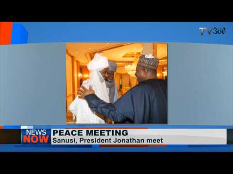Jonathan,Sanusi mend fences; meet at State House.