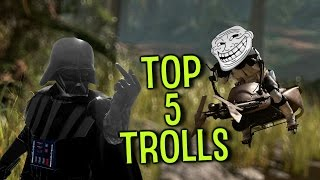 Top 5 Ways to Troll in Star Wars Battlefront