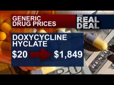 The Real Deal: Generic drug prices
