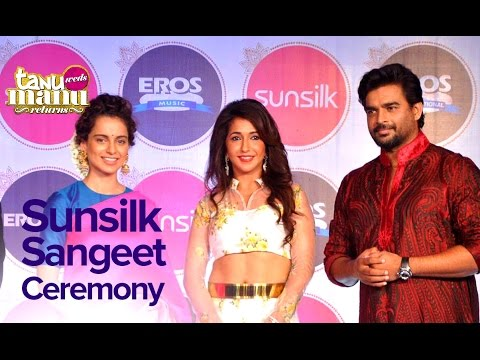 Sunsilk Sangeet Ceremony With Kangana And Madhavan | Tanu Weds Manu Returns