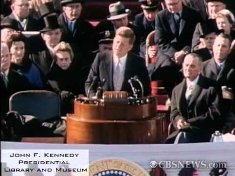 President John F. Kennedy's Inaugural Address video