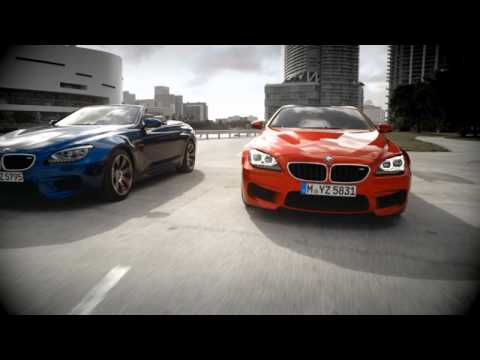 2013 BMW M6 Coupe в динамике. Реклама
