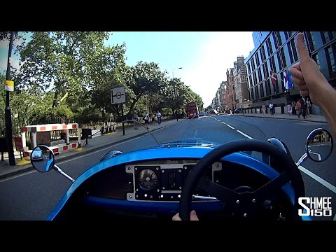 POV Driving in the Morgan 3 Wheeler in London and Reactions