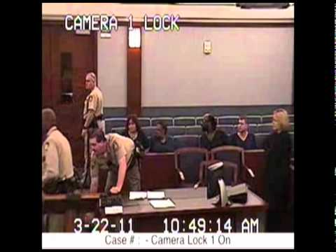 Lady Gets Crazy In NV Courtroom