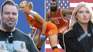 Europeans vs Americans: Try To Name the 10 Most Watched Sports in the WORLD