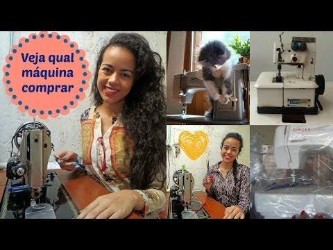 Sugestões de máquinas de costura para iniciantes e avançados Alana Santos Blogger