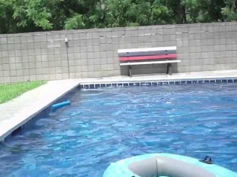 Mario and friends go swimming