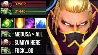 EPIC Shit SumiYa Invoker GOD vs HARD Medusa Insane Combo Best Magic Show Disaster Game 7.07 Dota 2
