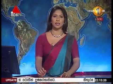 News 1st Prime time 10PM Sirasa TV 28th November 2014