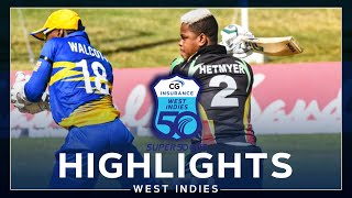 Highlights | Barbados vs Guyana | Fireworks From Hetmyer & Shepherd! | CG Insurance Super50 Cup