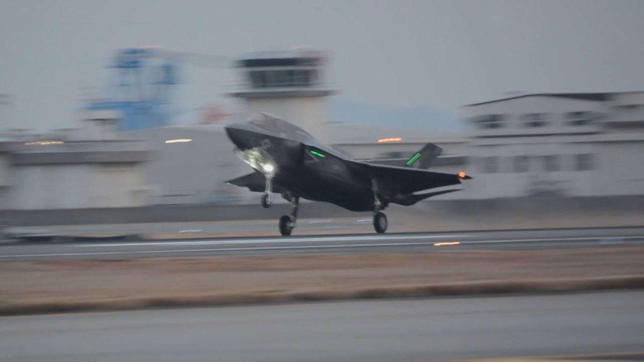 F35戦闘機、岩国に配備