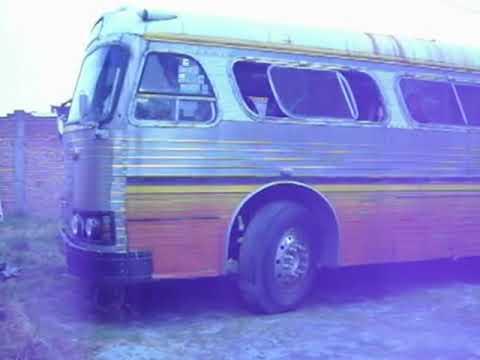 Arranque de Autobus Sultana 1964 (lamentablemente ya se chatarrizó por falta de comprador)