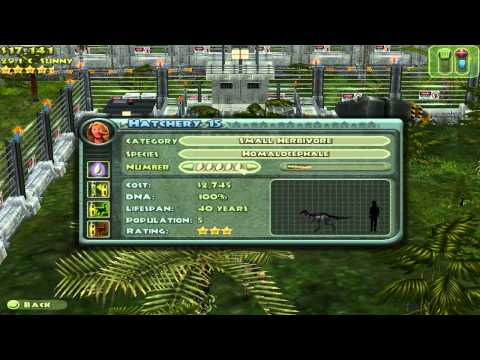 Jurassic Park: Operation Genesis - How to Build a Park Part 12