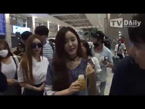 150622 티아라 T-ara Airport - Back from Nanjing, China