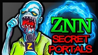 """ZOMBIE NEWS!! Secret Portals UNDER MAP Revealed """"Spaceland Zombies"""" Unknown Trick To Kill BRUTE"""