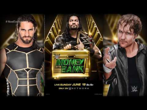 """WWE: Money in the Bank 2016 OFFICIAL Theme Song - """"Money"""" by Jim Johnston"""