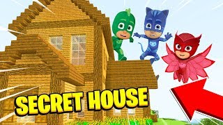 Minecraft : We Found The PJ MASKS SECRET HOUSE! (Ps3/Xbox360/PS4/XboxOne/PE/MCPE)