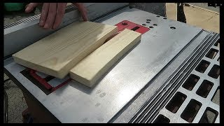 MASSIVE KICKBACK! - Setting up My First Table Saw
