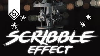 The Easiest Way To Create A Scribble Effect - Adobe After Effects Tutorial
