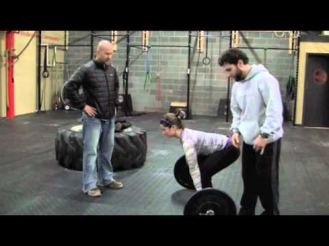 Crossfit Training How To Do Deadlift Exercises & Workouts for WOD, la Image 1