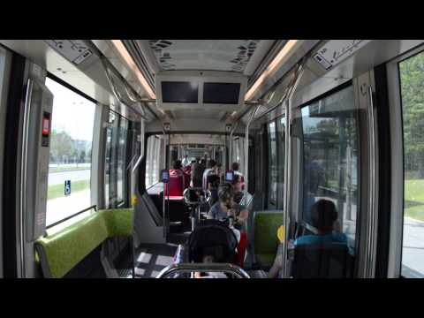Road Movie - Citadis 302 sur la ligne T2 (Divia)